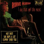 Single - Ronnie Pearson - Dig That Girl The Most She bops a lot