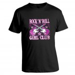 T-Shirt - Rock'n'Roll Girl Club