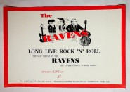 Poster - The Ravens - Long Live Rock'n'Roll
