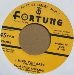 Single - Eddie Kirkland - I Need You Baby/I Must Have Done Somebody Wrong