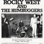Single - Rocky West and the Humbuggers - No Matter What You Do, Long Time No See