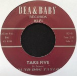 Single - Hound Dog Taylor - My Baby Is Coming Home / Take Five