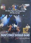 DVD - Papa's Finest Boogie-Band - Live