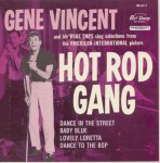 Single - Gene Vincent - Hot Rod Gang - Black Vinyl