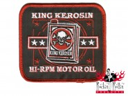 King Kerosin Aufnäher - Hi- Rpm- Motor Oil