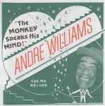 Single - Andre Williams - The Monkey Speaks His Mind , Don't Hurt Your Knees (You Might Need Them To Pray) May 14