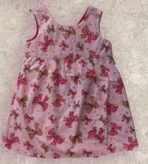 Kids - Kinderkleid Rundhals - My Dancing Bows Dress, Rosa