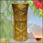 Tiki Mug - Ku-kaili-moku, Golden Brown