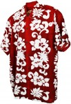 Hawaii-Shirt For Kids - San Diego Red