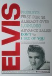 DIN A3 Poster - Elvis Presley - First For '58 Already Over
