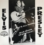 Single - Elvis Presley - That's All Right, Blue Moon of Kentucky