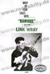 DIN A3 Poster - Link Wray - Rawhide