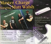 """CD - Master Charge - Featuring Matt Walsh """"Reloaded"""""""
