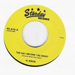 Single - Al Runyon - The Day Before The Night / Baby Please Come Home
