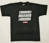 T-Shirt Race Gear - Louder Harder Faster
