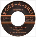 Single - Willie & The String Poppers - Crazy Boogie; Fender Bender Boogie