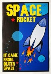 Poster - Space Rocket
