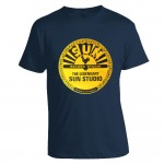 T-Shirt - Sun Records, Petrol