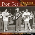 CD - Don Deal - The Early Recordings 1956 - 1958