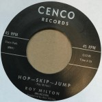 Single - Roy Milton - Hop, Skip, Jump / Baby You Don't Know