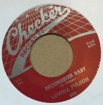 Single - Lowell Fulson - Reconsider Baby / Believe I?ll Give It Up