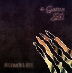 CD - 4 Gatos - Rumble !