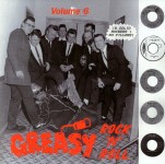 LP - VA - Greasy Rock and Roll Vol. 6