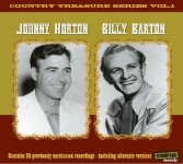 CD - Billy Barton & Johnny Horton - Country Music Treasure Seri