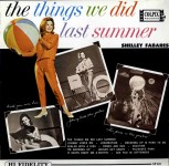 LP - Shelley Fabares - The Things we Did last summer