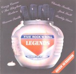 CD - VA - Five Rock And Roll Legends Rockin Au Rainbow