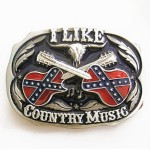 Gürtelschnalle - Western Country Music