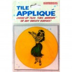 Aufkleber für Fliesen - Hula Tile Appliques