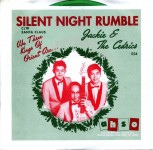 Single - Jackie & The Cedrics - Silent Night Rumble , Santa Clau