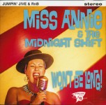 CD - Miss Annie & The Midnight Shift - Won't Be Long