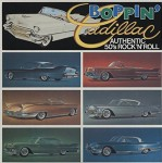 LP - VA - Boppin Cadillac, Authentic 50's Rock'n'Roll
