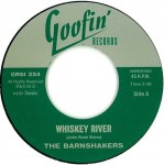 Single - Barnshakers - Whiskey River / Hollow Grave