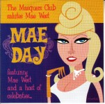 CD - Mae Day - The Masquers Club Salutes Mae West