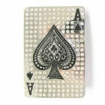 Gürtelschnalle - Hip Hop Spade Rhinestones Casino Poker