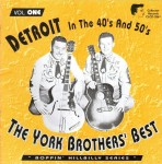CD - York Brothers - The York Brothers Best