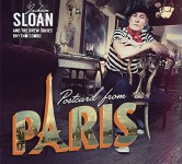 CD - Jackson Sloan & The Drew Davies Rhythm Combo - Postcard From Paris