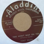 Single - Tony Allan - Holy Smoke, Baby; Time Won't Wait On You