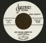 Single - Curley Millikin - Rock And Roll Country Boy; Why Did I Have To Fall In Love