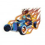 Marco Almera Aufkleber - Hot Roadster