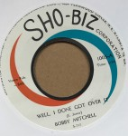 Single - Bobby Mitchell - Well, I Done Got Over It / Just Say You Love Me
