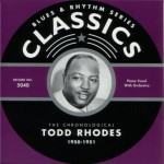 CD - Todd Rhodes - 1950 - 1951 The chronological classics