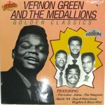 LP - Vernon Green And The Medallions - Golden Classics