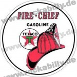 Blechschild - Fire Chief Gasoline