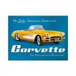 Magnet - Corvette Yellow