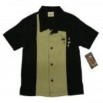 Steady Kinder-Hemd - Contrast Crown, Black