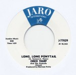 Single - Chuck Tharp And The Fireballs - Long, Long Ponytail, Let There Be Love